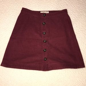 Abercrombie and Finch skirt
